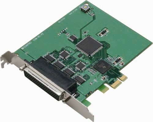 【新品/取寄品/代引不可】PCI Express対応RS-232Cシリアル通信ボード COM-8C-PE
