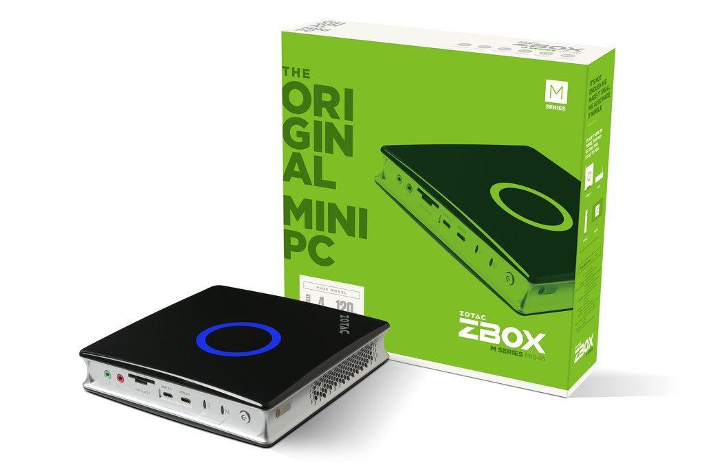 【新品/取寄品】ZOTAC ZBOX NANO MI546 PLUS mini-PC ZBOX-MI546-P-J