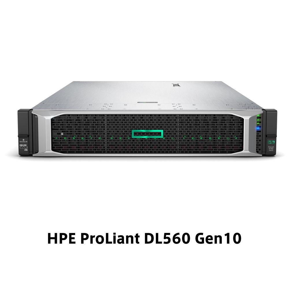 【新品/取寄品/代引不可】DL560 Gen10 Xeon Gold 6254 3.1GHz 4P72C 256GBメモリ ホットプラグ 8SFF(2.5型)P408i-a/2GB 1600W電源x2 ラック モデル P02874-291