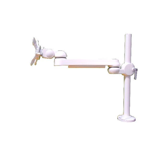 【新品/取寄品/代引不可】水平多関節アーム(クランプ取付)ホワイトモデル LA-51SC-2Q-WH