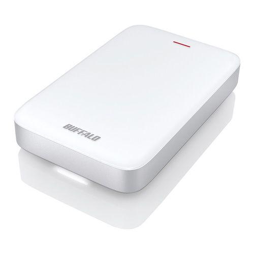 【新品/取寄品/代引不可】Thunderbolt+USB3.0Type-C変換ケーブル付 ポータブルHDD 1TB HD-PA1.0TU3-C