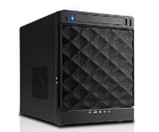 【新品/取寄品/代引不可】Mini-ITX対応コンパクトPCケース IW-MS04-01B/315H-80G