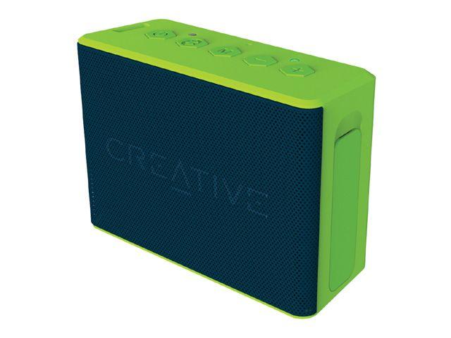 【新品/取寄品/代引不可】ワイヤレススピーカー Creative MUVO 2C グリーン SP-MV2C-GR