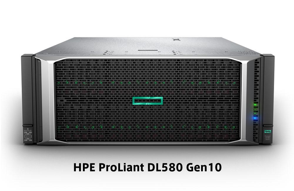【新品/取寄品/代引不可】DL580 Gen10 Xeon Gold 6230 2.1GHz 4P80C 256GBメモリ ホットプラグ 8SFF(2.5型)P408i-p/2GB 1600W電源x4 OneView Adv. ラック モデル P056