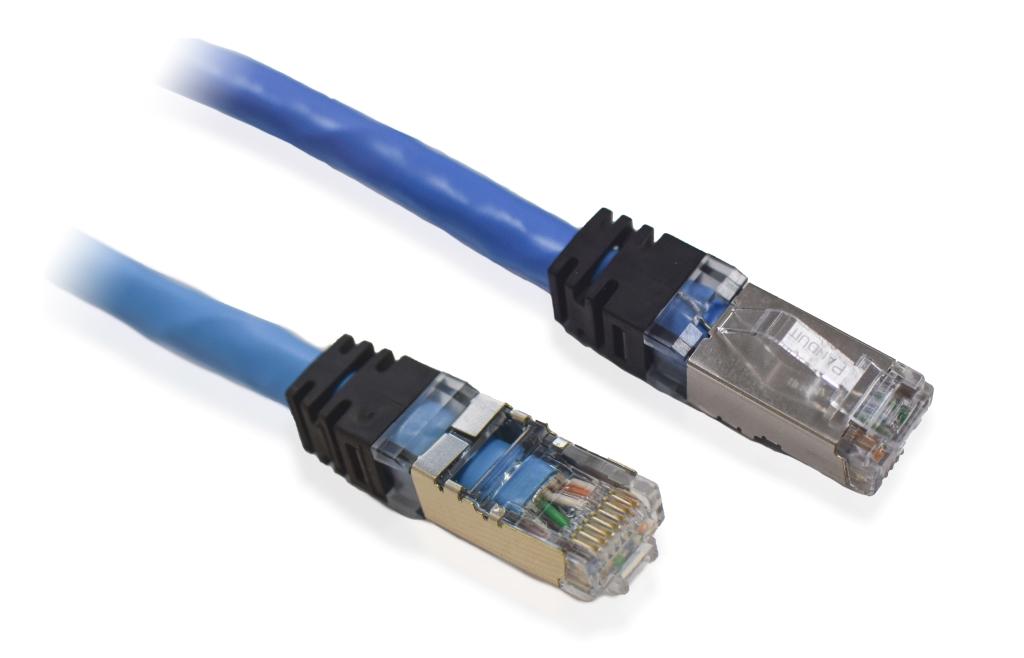 【新品/取寄品/代引不可】HDBaseT対応製品専用 Cat6A STP単線ケーブル(15m) 2L-OS6A015/ATEN