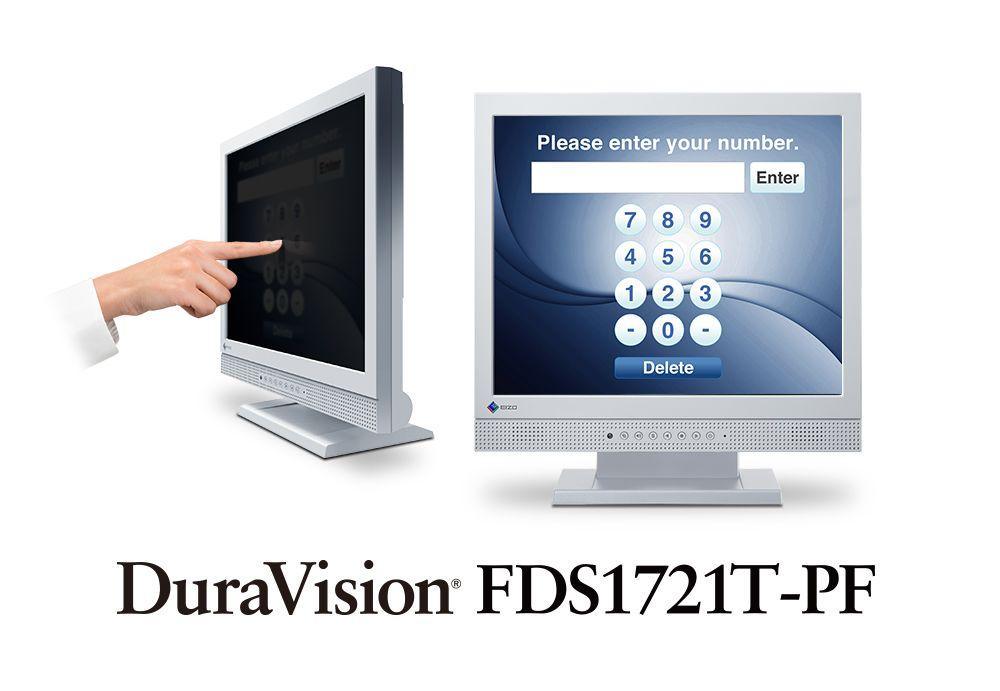 【新品/取寄品/代引不可】17.0インチモニター(1280x1024/DVI-D 24ピン(HDCP対応)x1/D-Sub 15ピン(ミニ)x1/セレーングレイ) FDS1721T-PF