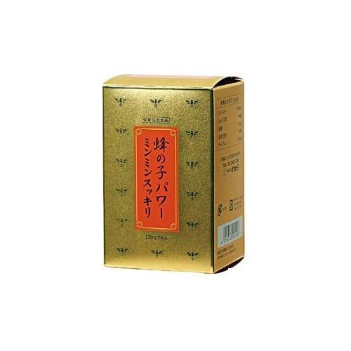【通販限定/新品/取寄品/代引不可】蜂の子パワーミンミンスッキリ 120カプセル