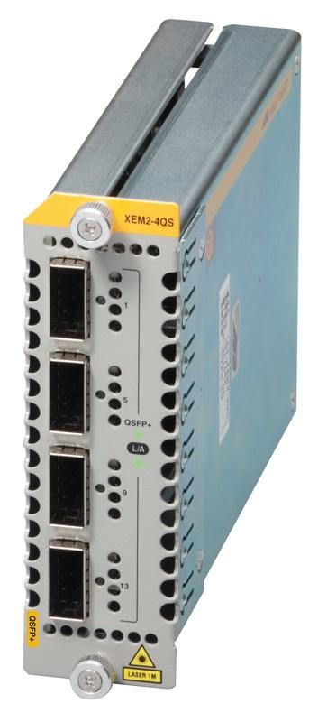 【新品/取寄品/代引不可】AT-XEM2-4QS-N5アカデミック[QSFP+スロットx4(デリバリースタンダード保守5年付)] 3618RN5