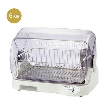【新品/取寄品】タイガー 食器乾燥器 サラピッカ DHG-S400-W ホワイト [6人用]
