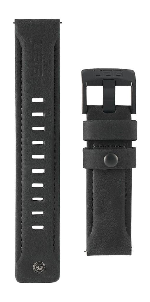 新品 取寄品 お得セット 春の新作 代引不可 UAG社製 Galaxy Watchバンド LEATHERシリーズ ブラック GalaxyWatch UAG-GWLL-BK 46mm用