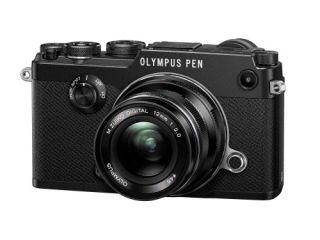 【新品/取寄品】OLYMPUS PEN-F 12mm F2.0レンズキット ブラック