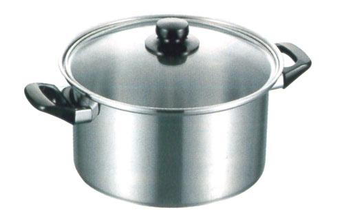 【新品/取寄品】フジノス エレックマスターライト ミエール 24cm 両手鍋深型 133120
