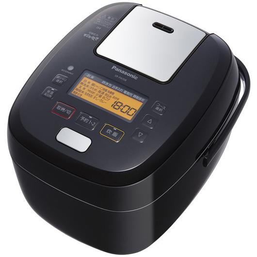 【新品/取寄品】パナソニック 可変圧力IHジャー炊飯器 おどり炊き SR-PA108-K [ブラック] [5.5合炊き]