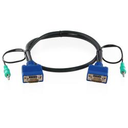 【新品/取寄品/代引不可】VGA&AUDIOコンボケーブル オス・オス 20m VGA-MM-20MA