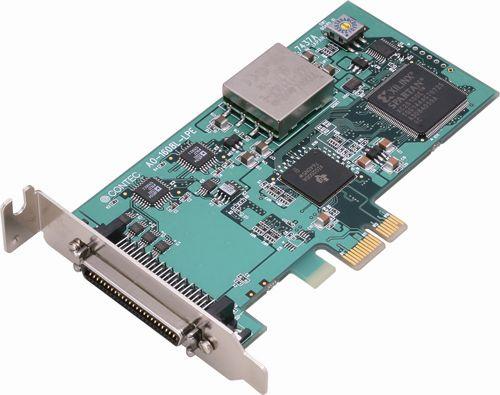 【新品/取寄品/代引不可】PCI Express対応 100KSPS 16ビット分解能アナログ出力ボード(Low Profile) 8chタイプ AO-1608L-LPE
