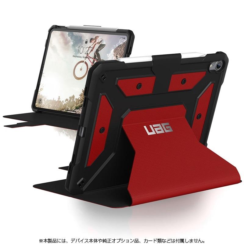 【新品/取寄品/代引不可】UAG 11インチ iPad Pro用 METROPOLIS Case(マグマ) UAG-IPDPROMFB-MG
