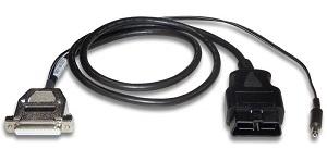 【新品/取寄品/代引不可】OBD2-DSUB25ケーブル(給電対応) OBD2-DB25C2-1