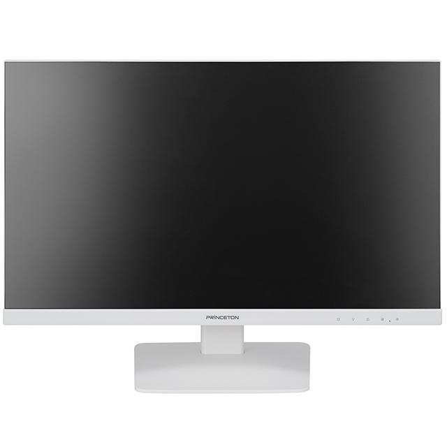 【新品/取寄品/代引不可】広視野角パネル採用 白色LEDバックライト 23.8型ワイドカラー液晶ディスプレイ ホワイト PTFWLD-24W