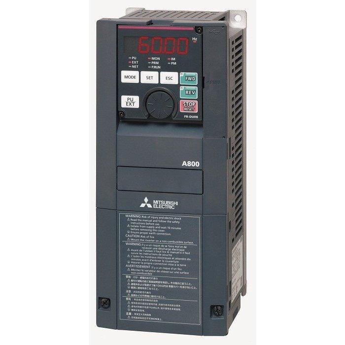 【新品/在庫あり】三菱電機 FR-A820-5.5K-1 高機能・高性能インバータ FREQROL-A800シリーズ 三相200V