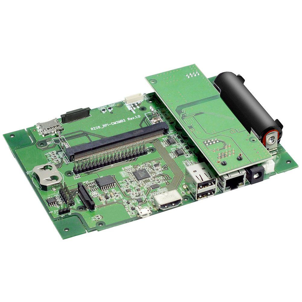 【新品/取寄品/代引不可】PoE対応 Raspberry Pi CM3キャリアボード RPI-CM3MB2-POE