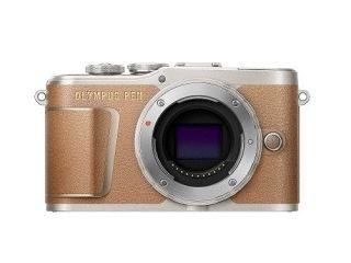 【新品/取寄品/代引不可】OLYMPUS ミラーレス一眼カメラ PEN E-PL9・ボディー(1605万画素/ブラウン) E-PL9 BODY BRW