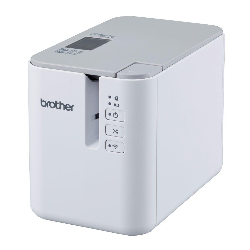 【新品/取寄品/代引不可】ラベルプリンター P-touch PT-P900W(360dpi/Wi-Fi) PT-P900W