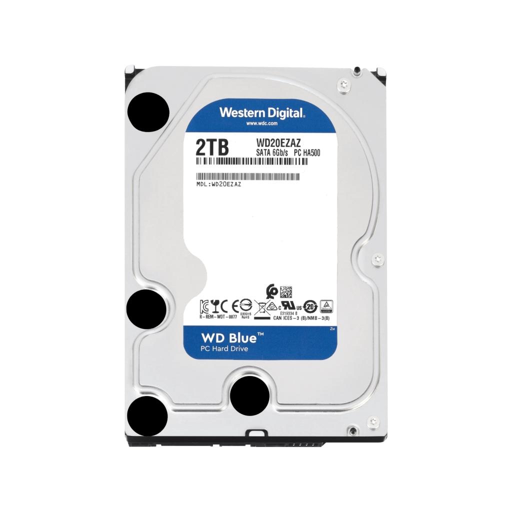 【新品/取寄品/代引不可】WD Blue SATA 6Gb/s 256MB 2TB 5、400rpm class 3.5inch AF対応 WD20EZAZ