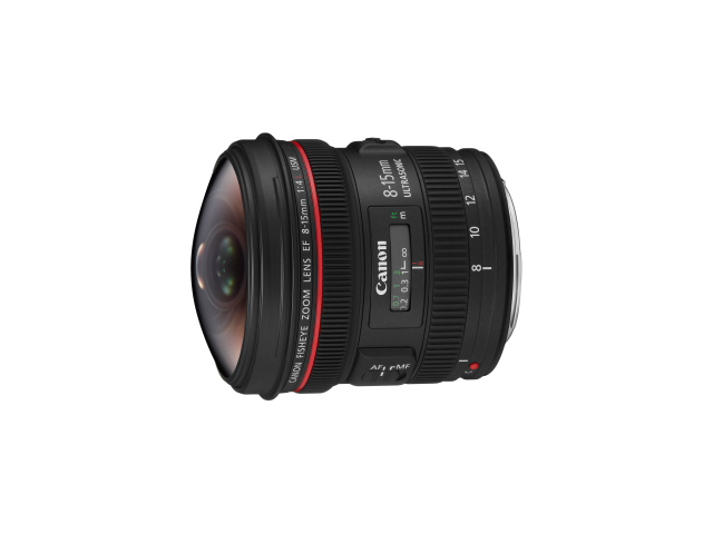 【新品/取寄品】Canon EF8-15mm F4L フィッシュアイ USM