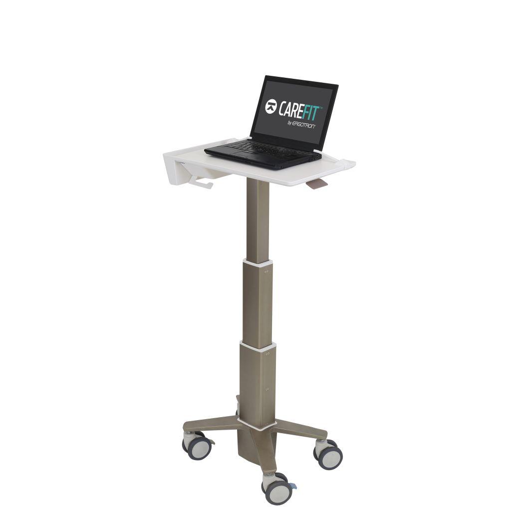 【新品/取寄品/代引不可】CareFit スリムラップトップカート C50-1100-0