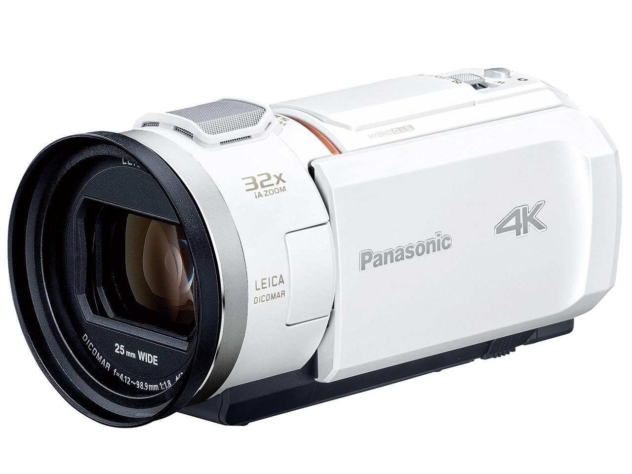 【新品/取寄品】デジタル4Kビデオカメラ HC-VZX2M-W ピュアホワイト