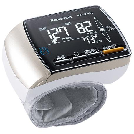 【新品/取寄品】パナソニック 手くび血圧計 EW-BW53-K ブラック