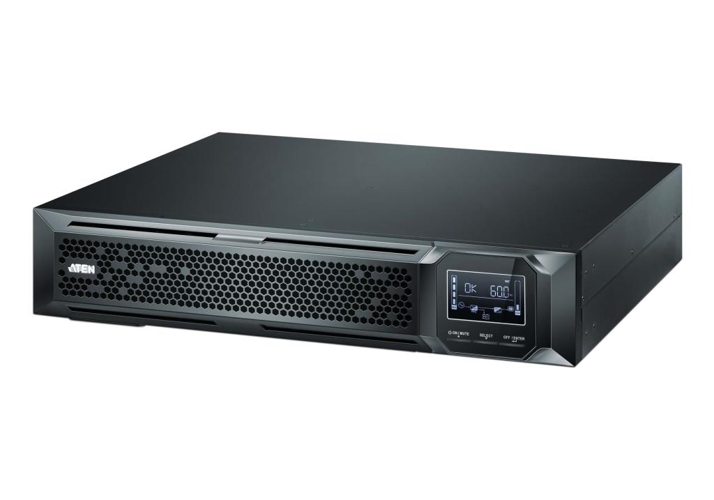 【新品/取寄品/代引不可】常時インバータ給電方式UPS(無停電電源装置)1000VA OL1000LV/ATEN