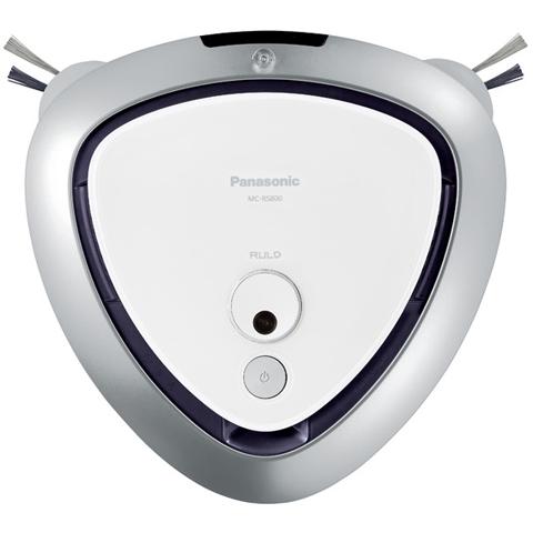 【新品/取寄品】パナソニック ロボット掃除機 ルーロ MC-RS800-W [クリアホワイト]