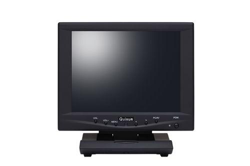 【新品/取寄品/代引不可】8.0インチ TFTタッチパネルモニタ(800x600/ブラック) QT-802B-AV-TP
