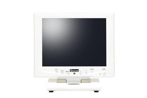 【新品/取寄品/代引不可】8.0インチ TFTタッチパネルモニタ(800x600/パールホワイト) QT-802P-AV-TP