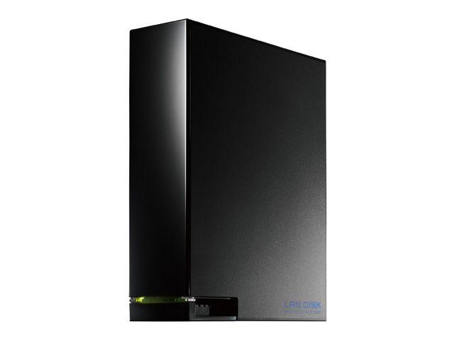 【新品/取寄品/代引不可】デュアルコアCPU搭載 1ドライブ高速ビジネスNAS 6TB HDL-AA6W