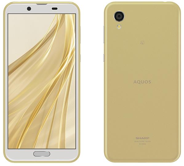 【新品/在庫あり】AQUOS sense2 SIMフリー [アッシュイエロー] スマートフォン SH-M08Y