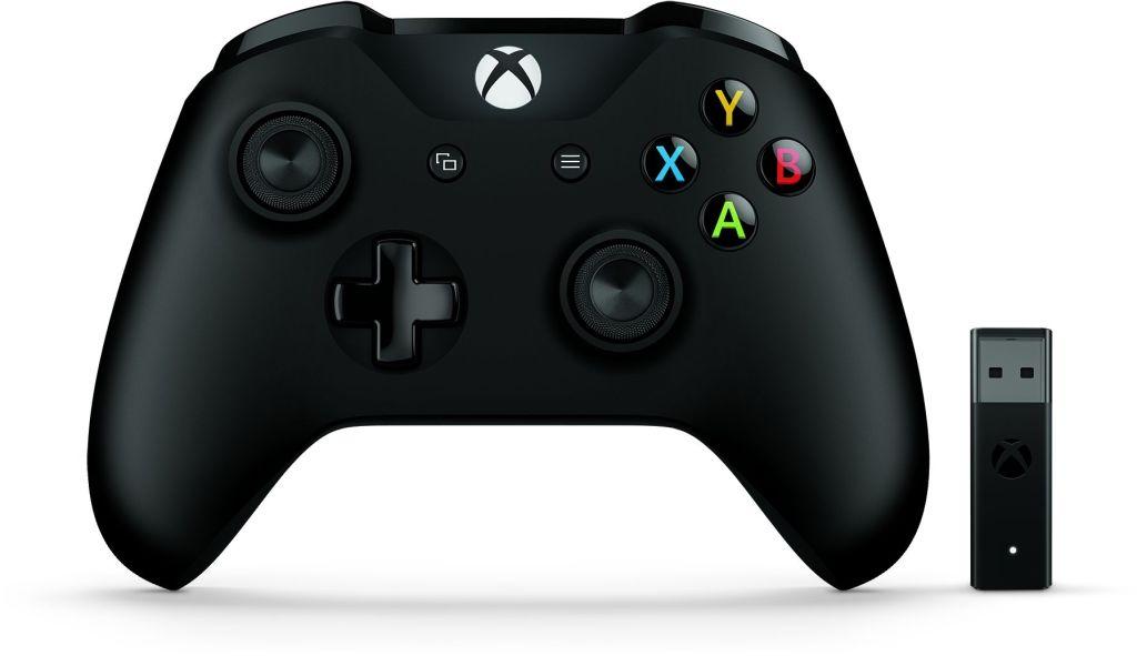 【新品/取寄品/代引不可】Microsoft Xbox コントローラー + Wireless Adapter for Windows 10 4N7-00008