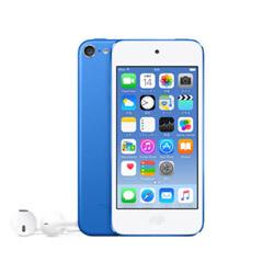 【新品/取寄品】iPod touch 第6世代 MKHE2J/A [64GB ブルー]