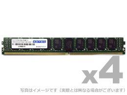 【新品/取寄品/代引不可】DDR4-2400 UDIMM ECC 4GB VLP 4枚組 ADS2400D-EV4G4