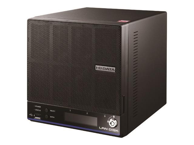 【新品/取寄品/代引不可】「WD Red」2基/高速CPU搭載 「拡張ボリューム」採用 高信頼ビジネスNAS 8TB HDL2-H8