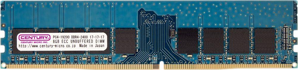 【新品/取寄品/代引不可】サーバー/WS用 DDR4-2400 32GBキット(8GB 4枚)ECC付き 日本製 CK8GX4-D4UE2400