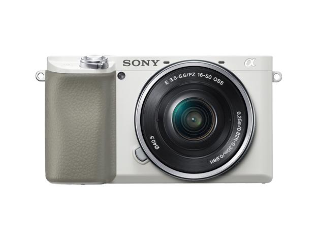 新品 新品 取寄品 代引不可 デジタル一眼カメラ α6100 W ホワイト お気に入 ILCE-6100L パワーズームレンズキット
