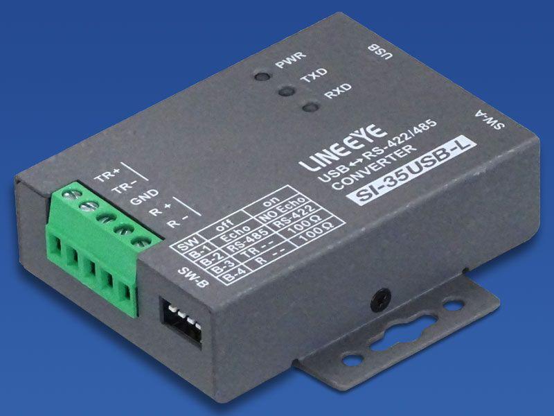 【新品/取寄品/代引不可】小型インターフェースコンバータ USBRS-422/485 壁掛タイプ SI-35USB-L