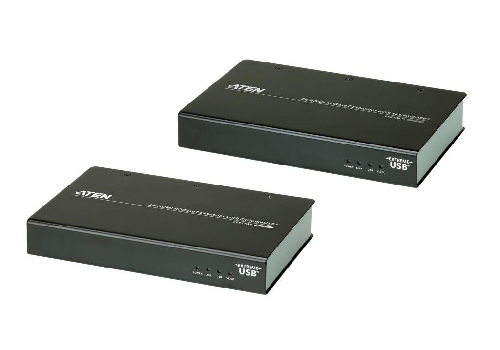 【新品/取寄品/代引不可】HDMIツイストペアケーブルエクステンダー(4K USB対応) VE813A/ATEN