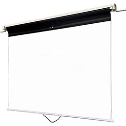 【新品/取寄品/代引不可】スプリング巻取型 マグネットスクリーン 曲面黒板用(ケース収納タイプ)WSM-070WC-TV3