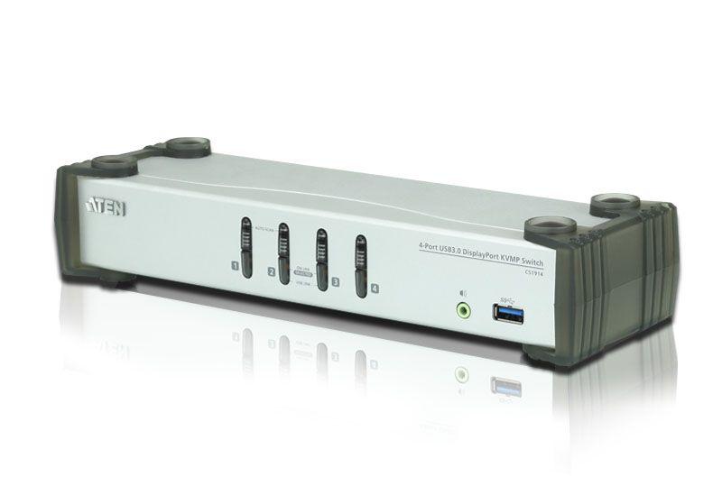 【新品/取寄品/代引不可 3.0ハブ搭載】USB 3.0ハブ搭載 4ポートUSB DisplayPort KVMPスイッチ 4ポートUSB CS1914 CS1914/ATEN/ATEN, カワチナガノシ:c01f7d82 --- coamelilla.com