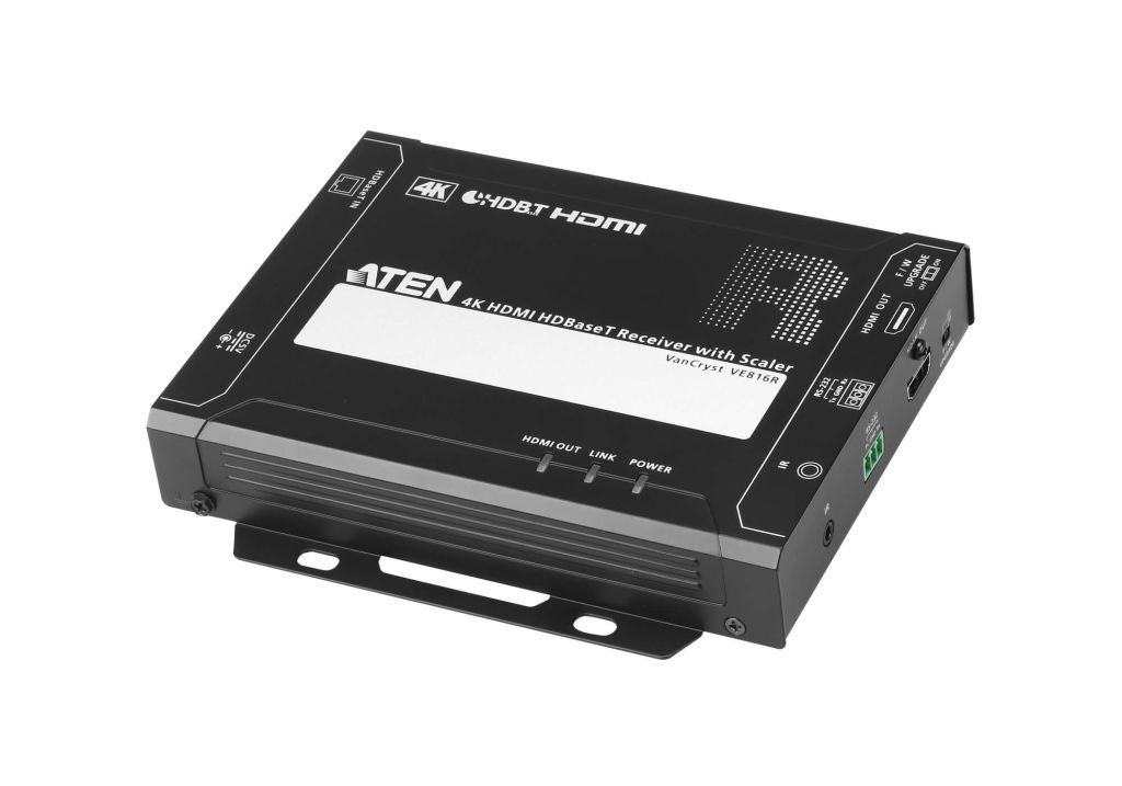 【新品/取寄品/代引不可】HDMI HDBaseT レシーバー(4K スケーラー内蔵) VE816R/ATEN