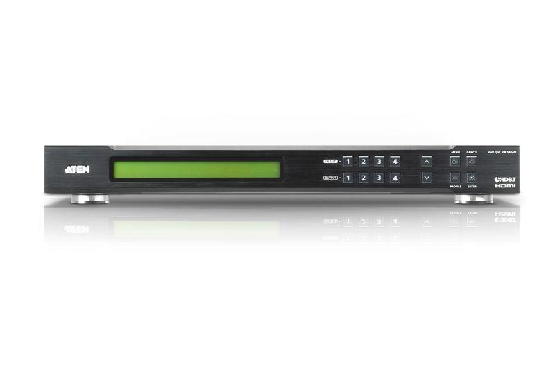 【新品/取寄品/代引不可】4入力4出力HDMIマトリックススイッチャー(送信機能付) VM3404H/ATEN