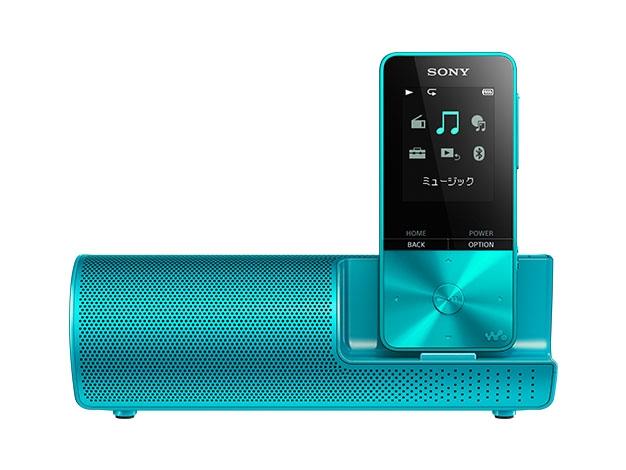 【新品/取寄品】ウォークマン Sシリーズ 16GB ブルー スピーカー付属 NW-S315K/L